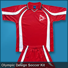 Olympic Design Soccer Kit