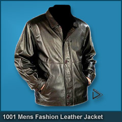 1001 Mens Fashion Leather Jacket
